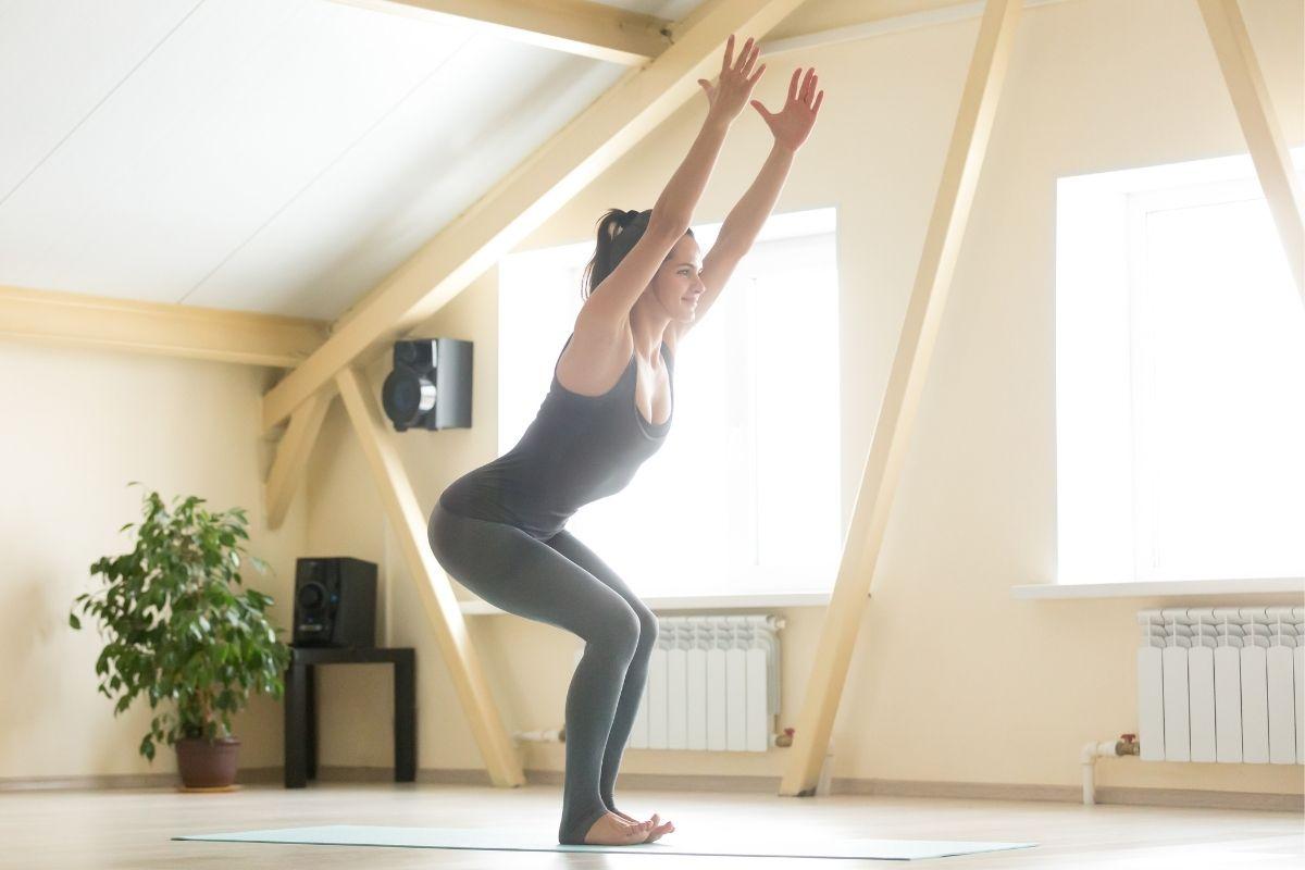 Chair Pose Yoga Benefits